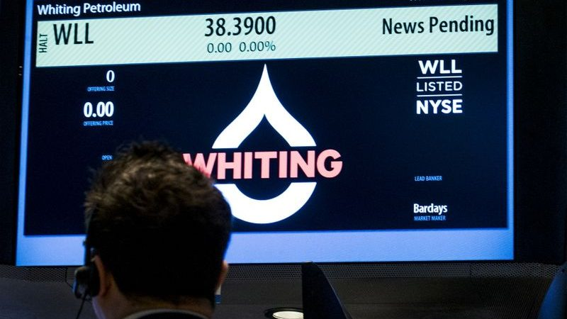 Whiting files for Chapter 11 bankruptcy as oil prices hover at $20