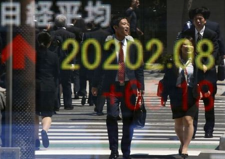 Asian Stocks Boosted With Positive Chinese Data, But COVID-19 Worries Remain