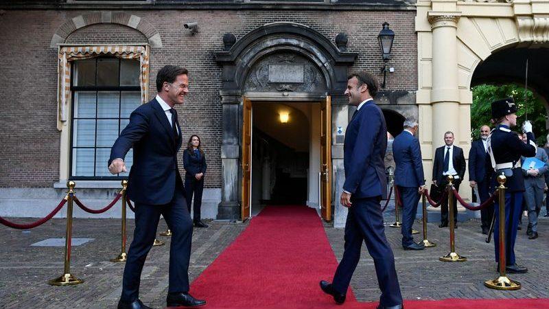 France's Macron, Dutch PM Rutte make progress on EU budget: Elysee