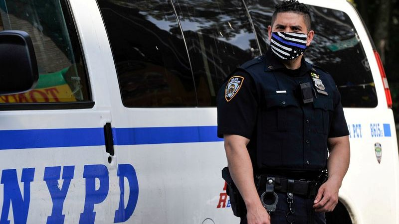 New York City mayor says will cut $1 billion from police budget