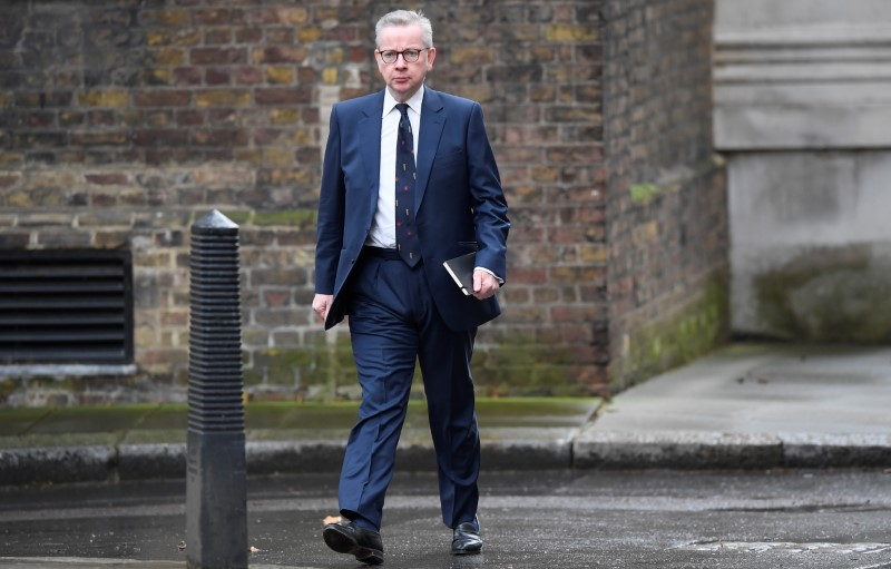 UK examining infrastructure to smooth flow of EU trade: Gove