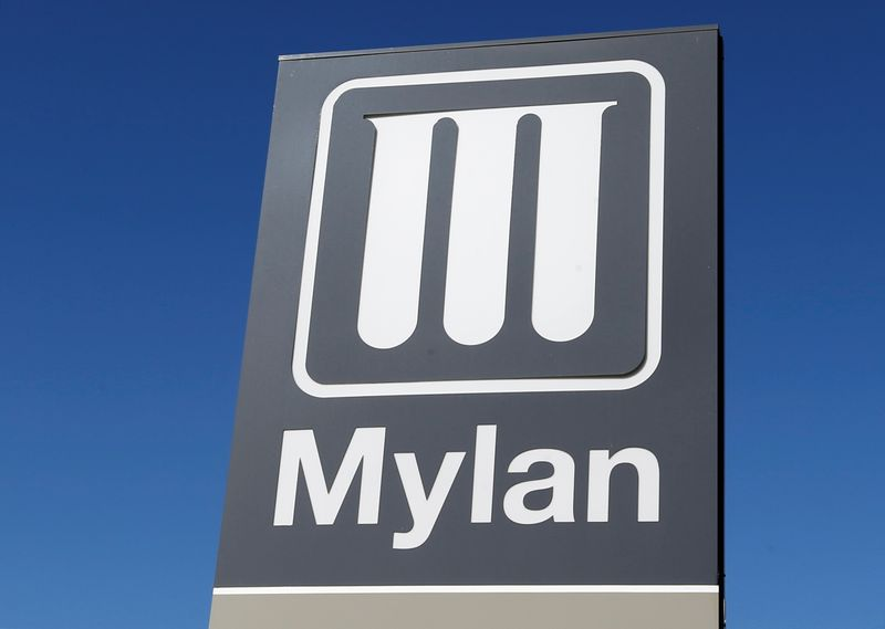 Mylan posts quarterly profit compared to year-earlier loss