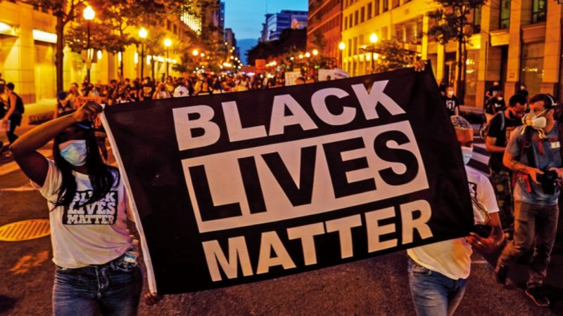 Black Lives Matter Show up at the Hospital Where Ambushed Deputies Cling to Life