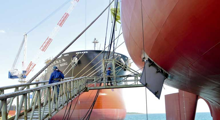 Pandemic leaves local shipbuilders high and dry