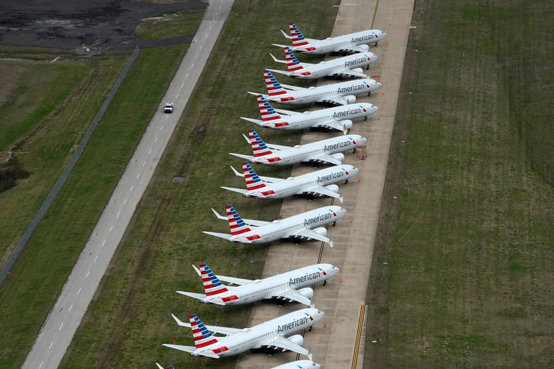 American Air to run Boeing 737 Max at year end: Bloomberg News