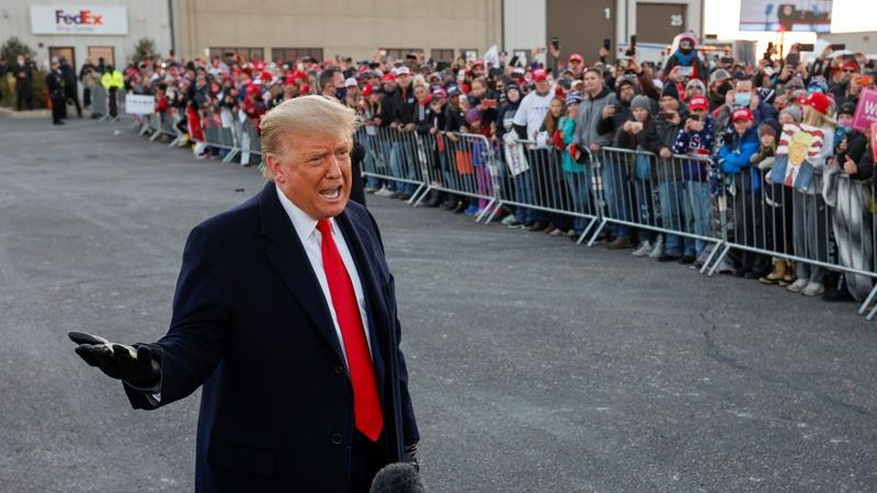 More than 90 million vote early as Trump, Biden make late campaign push