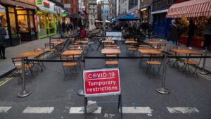 One in three restaurants fear going bust this winter