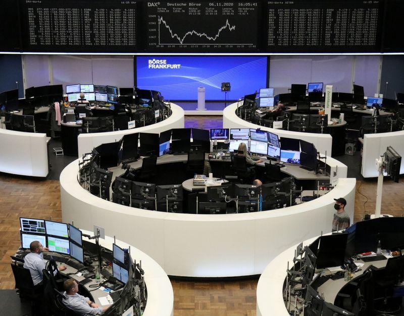 European stock futures jump as Biden wins U.S. presidency