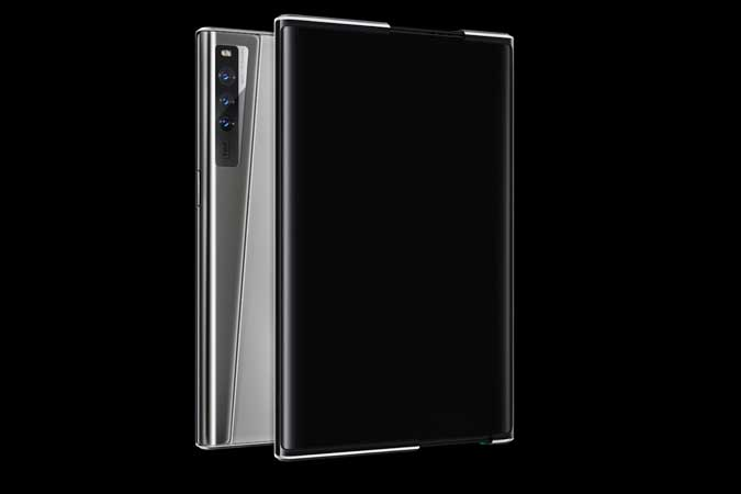 OPPO unveils concept phone with 'rollable' display