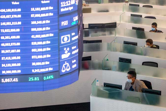 PSEi tests support level on extended profit taking