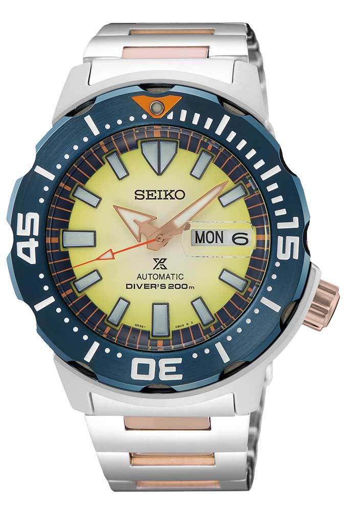 Seiko watch inspired by Tubbataha