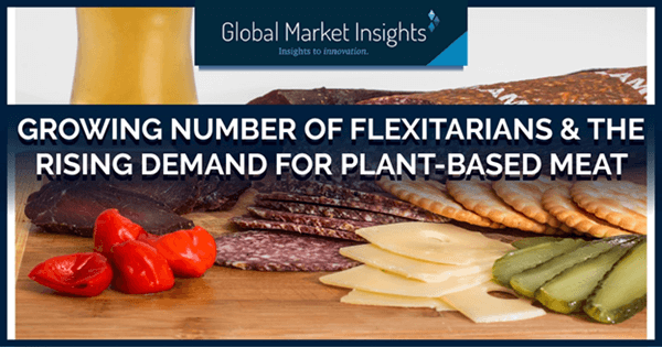 Growing number of flexitarians and the rising demand for plant-based meat