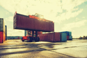 Lack of containers drives shipping costs to new high