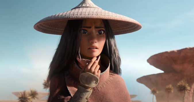 Disney's Raya and the Last Dragon takes audience on an Asian-inspired adventure