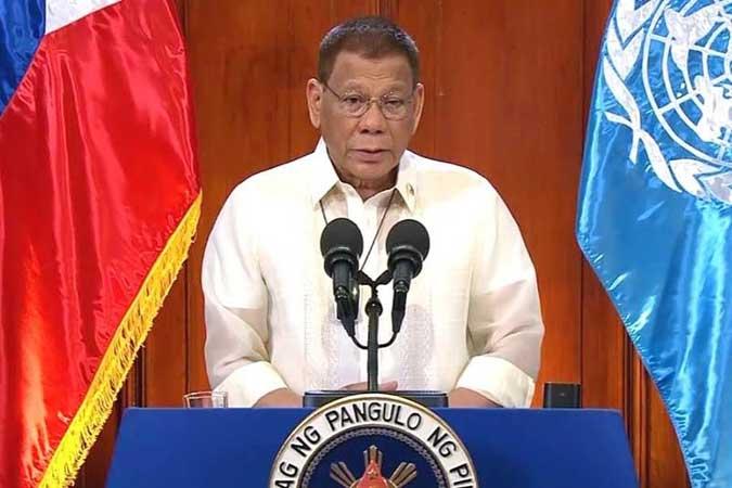 Duterte belittles UN ruling; Palace says remarks for critics