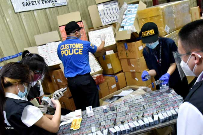 Undeclared drugs, including ivermectin, seized at Manila airport