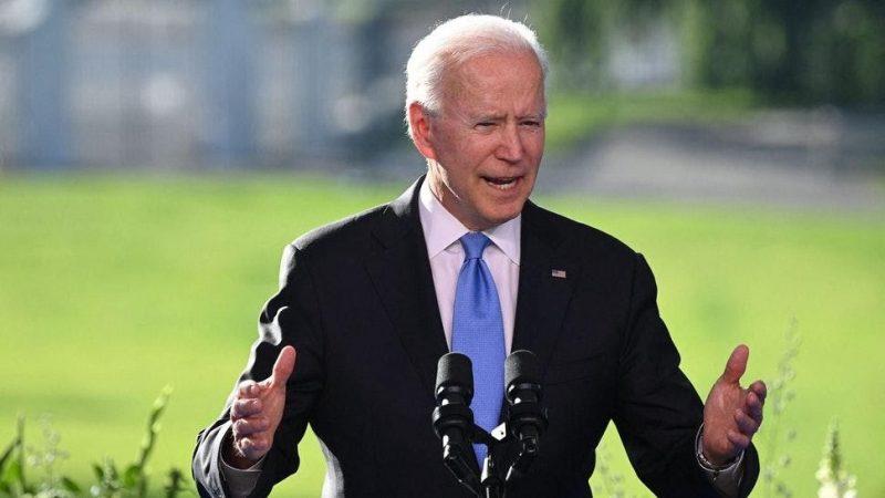 Biden Irrationally Explodes After CNN Reporter Asks Question Following Putin Summit