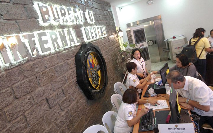 BIR lists transactions qualified for tax perks under FIST Act