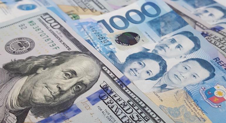 Peso down on month-end dollar demand, virus concerns