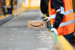 Sales rocket but Amazon growth slows as pandemic restrictions reduce
