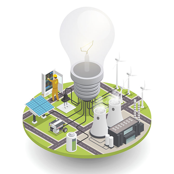 Energy sector in transition: A rebalancing act