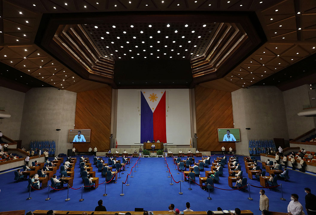 House realigns P65B in 2022 budget