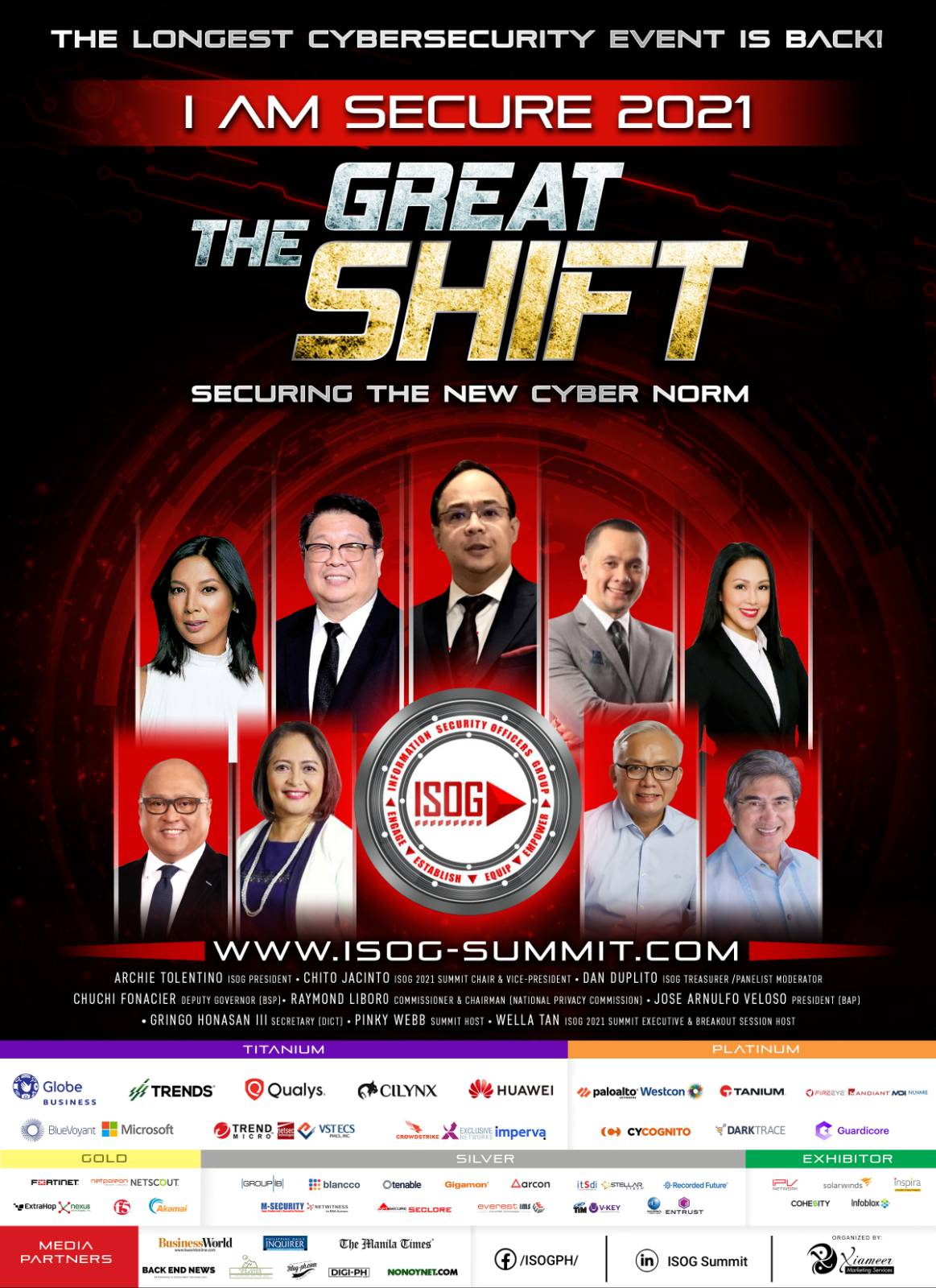 Ongoing ISOG virtual cybersecurity summit empowers information security professionals in the new cyber norm